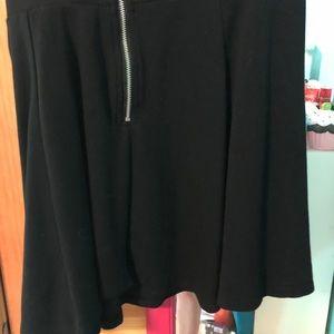 H&M Skirts - Cute black skater skirt!